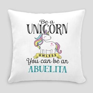 Unicorn ABUELITA Everyday Pillow