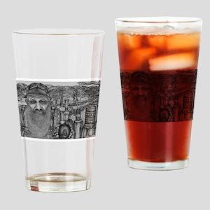 Popcorn Sutton Drinking Glass