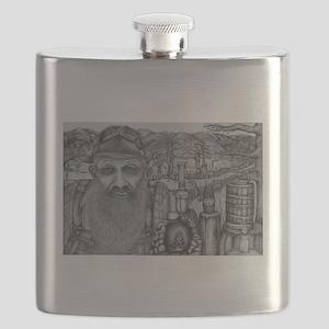 Popcorn Sutton Flask