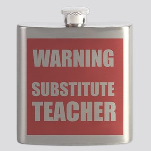 Warning Substitute Teacher Flask