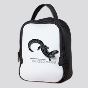 Ambystoma Cingulatum Neoprene Lunch Bag