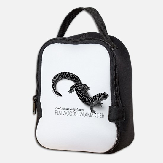 Ambystoma Cingulatum Neoprene Lunch Bag