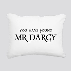 You Have Found Mr Darcy Rectangular Canvas Pillow