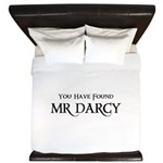 You Have Found Mr Darcy King Duvet