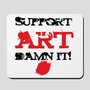 Support ART Damn It! Mousepad