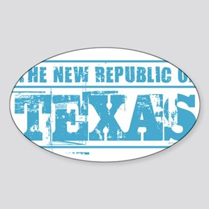 Texas - New Republic Sticker
