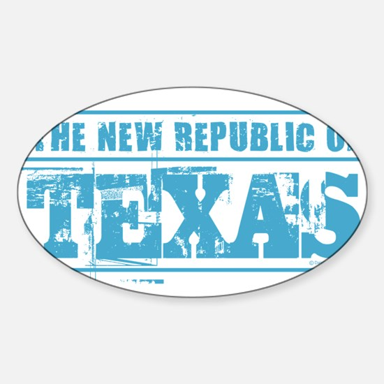 Texas - New Republic Decal