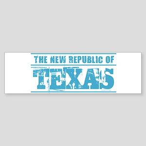 Texas - New Republic Bumper Sticker