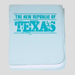Texas - New Republic baby blanket