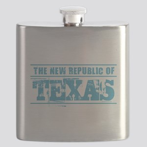 Texas - New Republic Flask