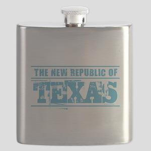 Texas - New Republic Flask