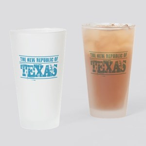 Texas - New Republic Drinking Glass