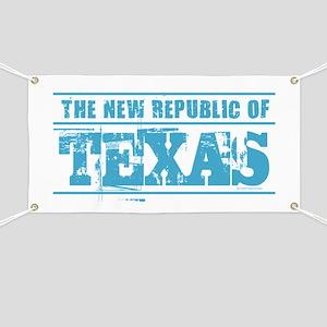 Texas - New Republic Banner
