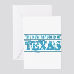 Texas secede greeting cards cafepress texas new republic greeting cards m4hsunfo
