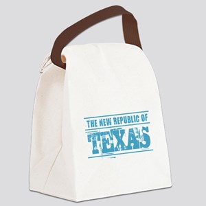 Texas - New Republic Canvas Lunch Bag