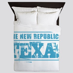 Texas - New Republic Queen Duvet