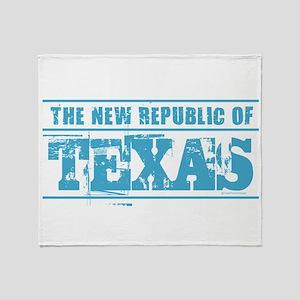 Texas - New Republic Throw Blanket