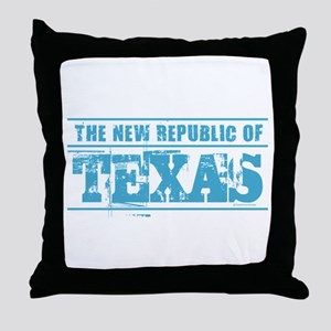 Texas - New Republic Throw Pillow
