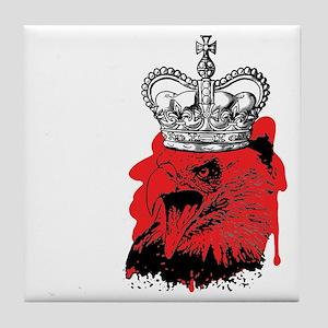 EAGLE KING Tile Coaster