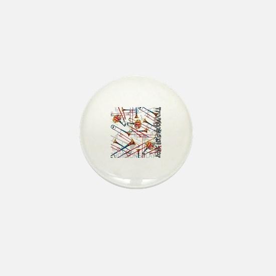 Cute Colored Mini Button