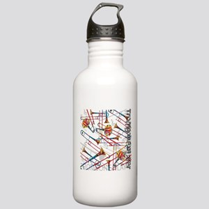 Trombone Player Trombo Stainless Water Bottle 1.0L