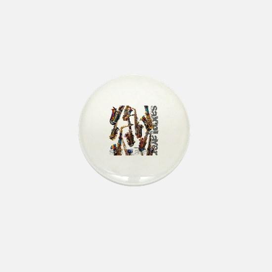 Cute Jazz Mini Button