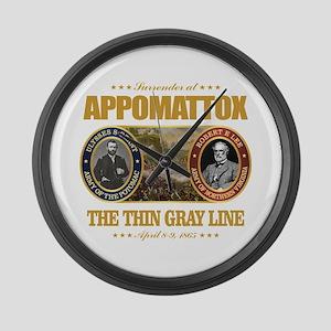 Appomattox (FH2) Large Wall Clock