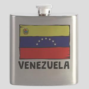 Venezuela Flag Flask