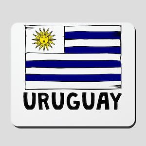 Uruguay Flag Mousepad