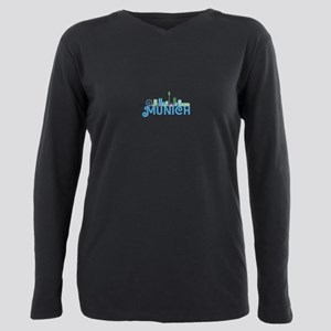 Skyline munich Plus Size Long Sleeve Tee