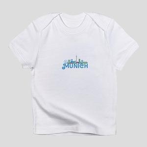 Skyline munich Infant T-Shirt