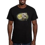 Tx Tweed Men's Fitted T-Shirt (dark)