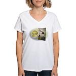 Tx Tweed Women's V-Neck T-Shirt