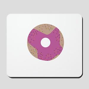 Pink Donut Mousepad