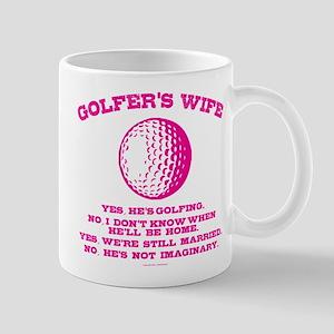 Golfer's Wife Mugs