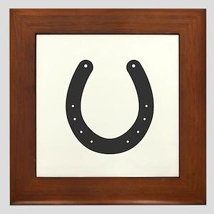 Horseshoe Framed Tile