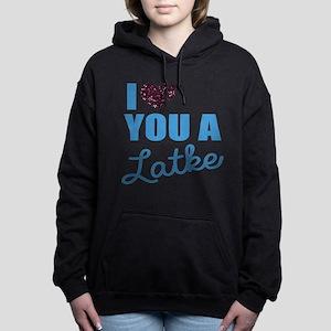 A Latke Women's Hooded Sweatshirt