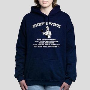 Chef's Wife Women's Hooded Sweatshirt