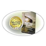 Tx Tweed Sticker (Oval 50 pk)