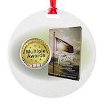 Tx Tweed Round Ornament