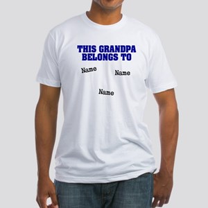 This grandpa belongs to Fitted T-Shirt
