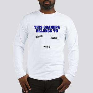 This grandpa belongs to Long Sleeve T-Shirt