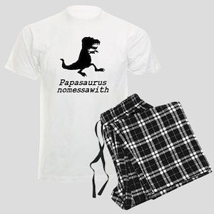 Papasaurus nomessawith Men's Light Pajamas