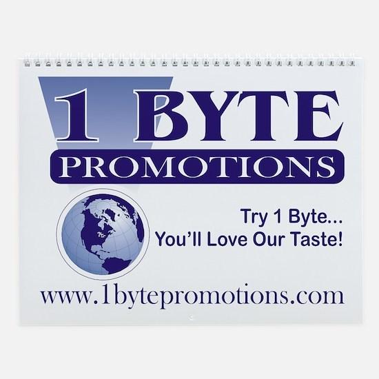 1 Byte Promotions Wall Calendar