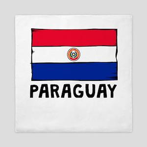 Paraguay Flag Queen Duvet