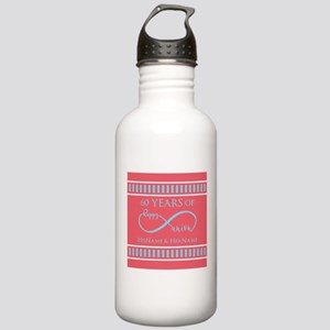 Personalized 60th Anni Stainless Water Bottle 1.0L