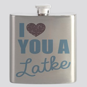 A Latke Flask