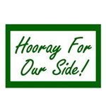 Hooray For Our Side Postcards (Package of 8)