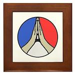 Pray for Peace Framed Tile