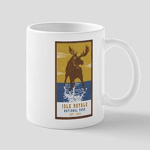 Isle Royale Moose National Park Mugs